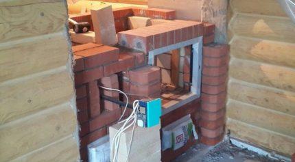 Four à briques