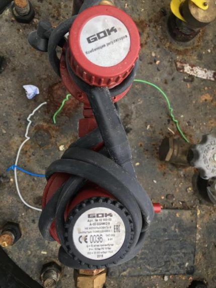Câble chauffant sûr