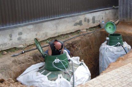 Isolation du réservoir de gaz
