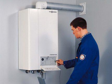 Exigences pour l'installation d'une chaudière à double circuit