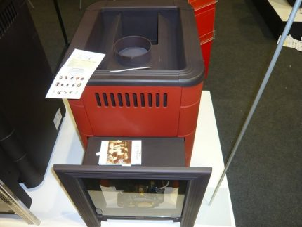 Gas stove in the store