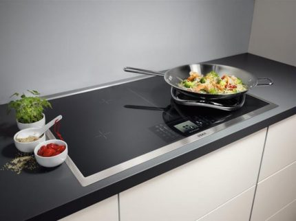 Electric stove as an alternative to gas