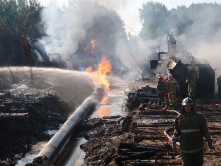 Accident de gazoduc