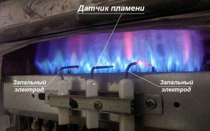 Capteur de flamme