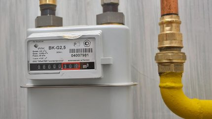 Intervention dans le fonctionnement des équipements à gaz