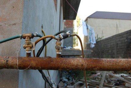 Connexion non autorisée au gaz