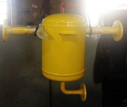 Overhead condensate collector