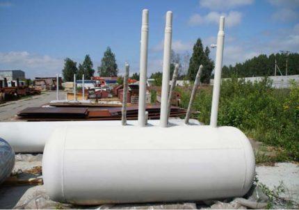 Underground condensate collector