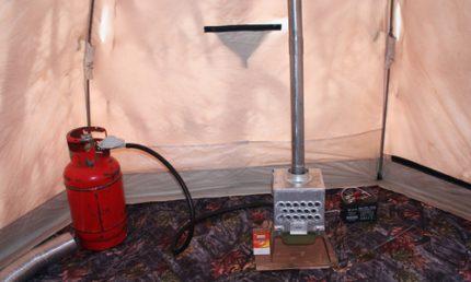 Heater with heat exchanger