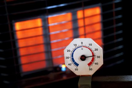 Household gas infrared heater