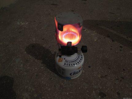 Homemade heater