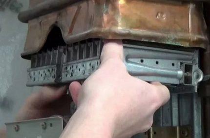 Inspection et entretien des colonnes