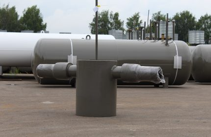 Large condensate collector
