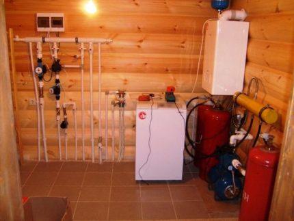 Utiliser un réservoir de gaz pour chauffer votre maison