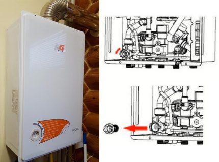 Filtre de circuit de chauffage