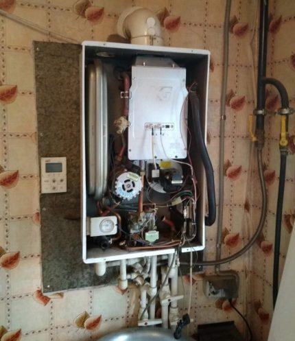 Emplacement de la pompe dans la conception de la chaudière