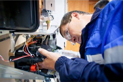 Gas equipment inspection