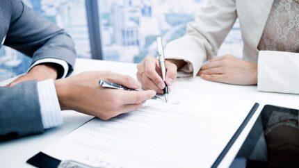 Conclusion d'un accord de gazéification