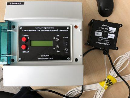 Stationary gas analyzer Sigma-03