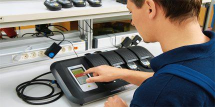 Electronic calibration equipment