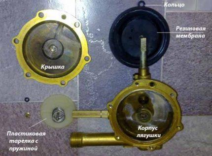 Membrane de colonne de gaz