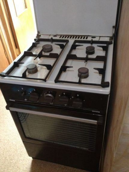 Sale of gas stove