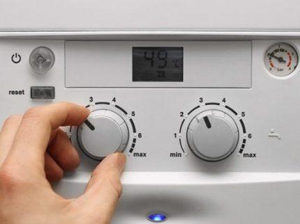 Régulateur de puissance de chaudière à gaz