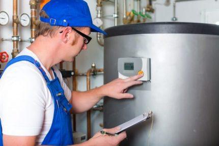Vérification des performances des équipements à gaz