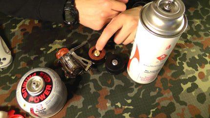 Gas burner atomizer