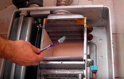 Nettoyage d'échangeur de chaleur