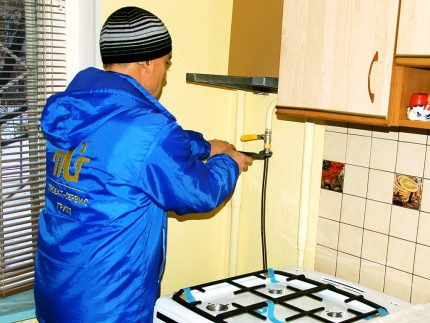 Profesionalus dujų įrangos montavimas