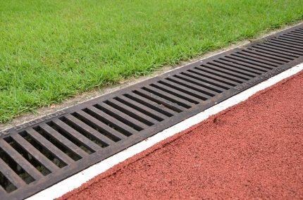 Drainage des complexes sportifs