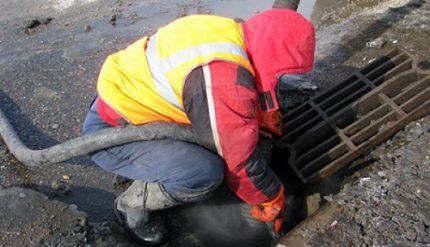 Nettoyage du système de drainage