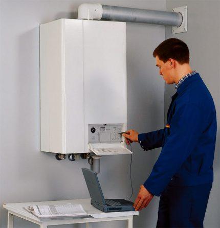 Automatisation de chaudière à gaz