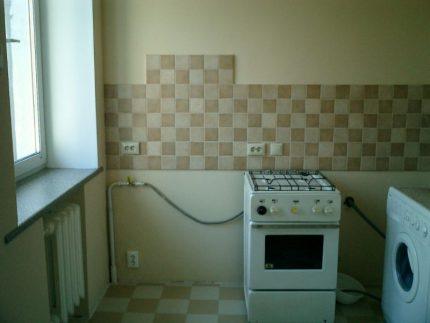 Tuyau de cuisinière à gaz