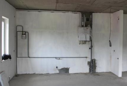 Réglage du tuyau de gaz pour le transfert du poêle
