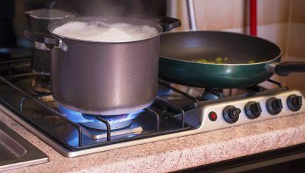Sécurité des cuisinières à gaz