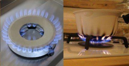 Comment la flamme brûle