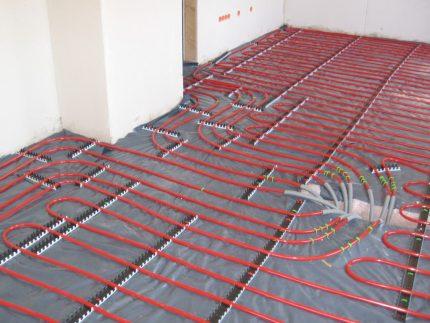 Système de chauffage au sol