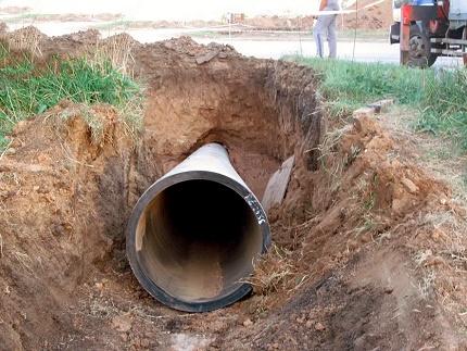 Underground piping case