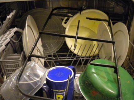 Nettoyage au lave-vaisselle