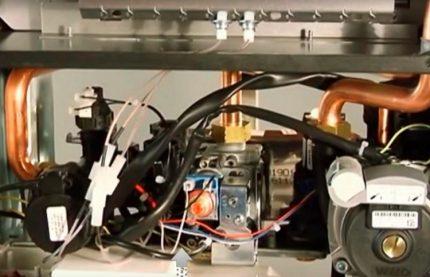 Vérification du circuit électrique de la chaudière