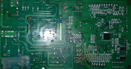 Circuit imprimé d'enceintes Electrolux