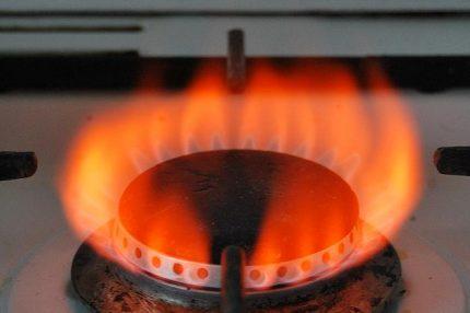 Dujų deginimas