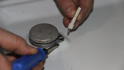 Réparer un brûleur