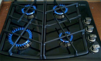 Chauffage au gaz pour éliminer l'humidité