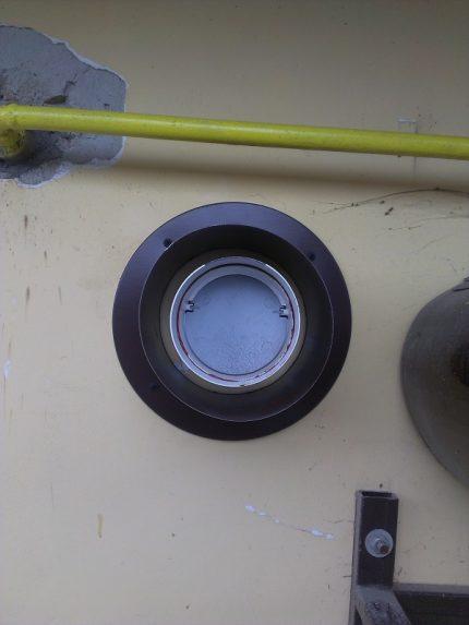 Damper for water heater