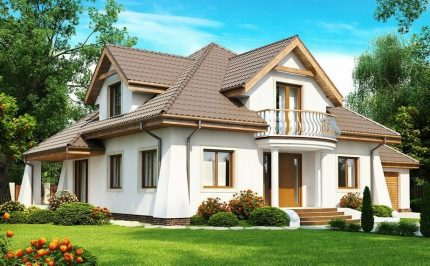 Country house for permanent residence