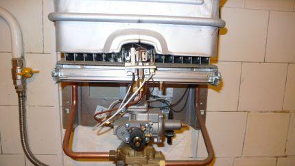 Piezo ignition system