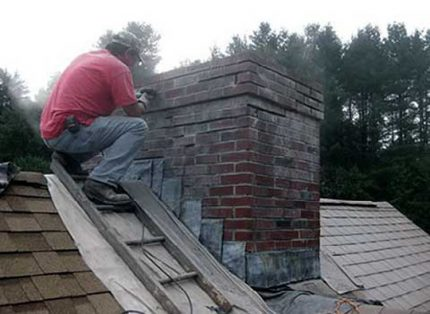 Chimney blockage
